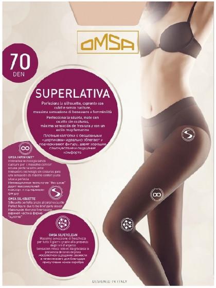 Omsa Superlativa 70 Den плотные женские бесшовные колготки
