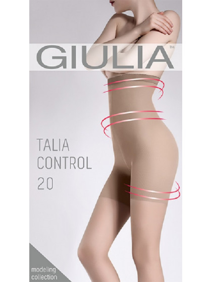 Giulia Talia Control 20 Den тонкие моделирующие колготки