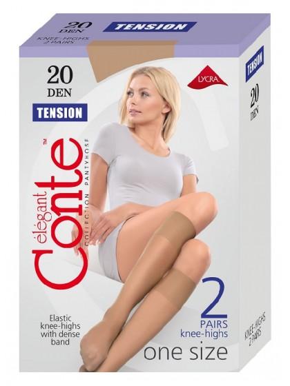Conte Tension 20 Den женские тонкие капроновые гольфы